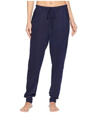 Nautica Jogger Pants Evening Blue Heather Pajama