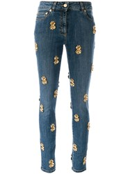 Moschino Dollar Sign Skinny Jeans 60