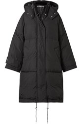 Mcq By Alexander Mcqueen Oversized Hooded Quilted Shell Down Coat Black