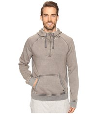 Ugg Cooper Washed Pullover Hoodie Stout Men's Sweatshirt Brown