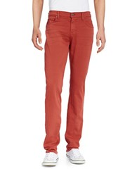 7 For All Mankind Slim Jeans Red