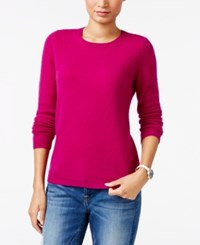 Charter Club Cashmere Crew Neck Sweater Only At Macy's Bright