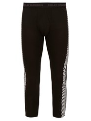 Helly Hansen Lifa Cropped Thermal Leggings Black