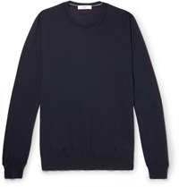 Mr P. Cashmere Sweater Navy