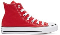 Converse Red Classic Chuck Taylor All Star Ox High Top Sneakers