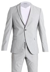 Selected Homme Shxzero Tadcanary Suit Grey Light Grey