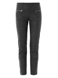 Les Chiffoniers Birdseye Tweed Cropped Trousers