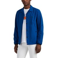 Rag And Bone Tech Poplin Coach's Jacket Blue