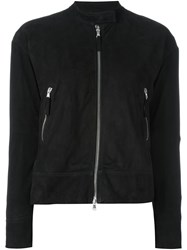 Eleventy Zip Up Jacket Black
