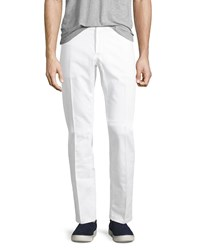 Berluti Straight Leg Denim Jeans Optical White