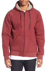 Men's Tavik 'Cleon' Midweight Fleece Hoodie Ox Blood
