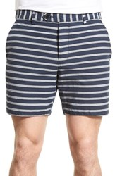 Men's French Connection Stripe Oxford Shorts