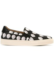 Paul Smith Balloon Print Slip On Sneakers Black