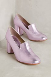 Anthropologie Rachel Comey May Loafer Heels Lilac