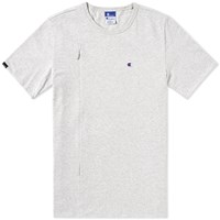 Champion X Beams Vertical Zip Tee Grey