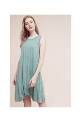 Anthropologie Sara Tank Dress Green