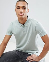 Tom Tailor Polo With Logo In Light Green