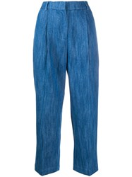 Ymc High Waisted Cropped Jeans 60