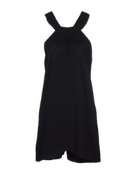 Cameo Short Dresses Black