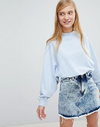 Monki Sweatshirt Blue