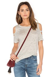 Generation Love Kendall Cold Shoulder Top Gray