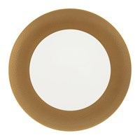 Amara Port Cros Golden Dinner Plate
