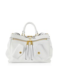 Moschino Handbags White Leather Tote Bag