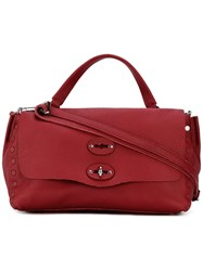 Zanellato Shoulder Bag Women Leather One Size Red
