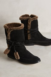 Cynthia Vincent Hustle Boots Black And Brown
