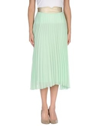 Jovonna 3 4 Length Skirts Light Green