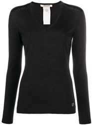 Roberto Cavalli Embroidered Details Knitted Jumper 60