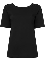 Ck Calvin Klein Sports Jersey V Back Top Black