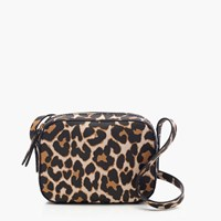 J.Crew Marlo Crossbody Bag In Leopard Dusty Cedar