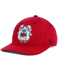 Zephyr Fresno State Bulldogs Competitor Cap Red