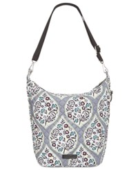 Vera Bradley Carson Medium Hobo Bag Heritage Leaf