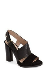 Women's French Connection 'Urlian' Sandal Black Leather