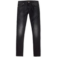 Nudie Jeans Tight Long John Jean Black