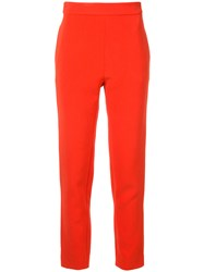 Macgraw Tailored Cigarette Trousers Polyester Acetate