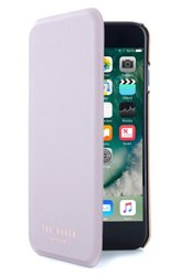 Ted Baker London Shannon Iphone 7 And 7 Plus Mirror Folio Case Purple Light Purple