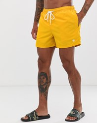 New Look Basic Swimshort In Yellow