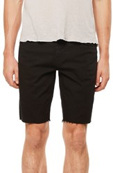 J Brand Eli Cutoff Denim Shorts Black