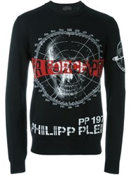 Philipp Plein 'No Soul' Jumper Black