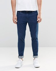Only And Sons Jeans Extreme Skinny In Medium Blue Blue