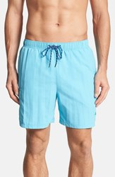 Tommy Bahama Men's Big And Tall 'Happy Go Cargo' Swim Trunks Electric Marine