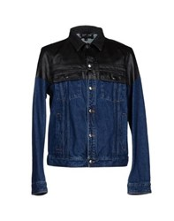 Just Cavalli Denim Denim Outerwear Men Black