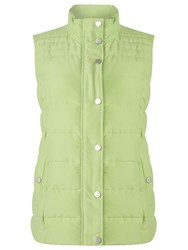 Dash Lime Peached Padded Gilet Green