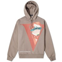 Undercover X Valentino V Face Hoody Brown