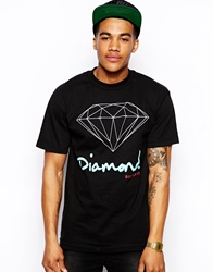 Diamond Supply Co. Diamond Supply T Shirt With Og Logo Black