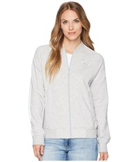 Puma Classics Logo T7 Track Jacket Light Gray Heather Coat