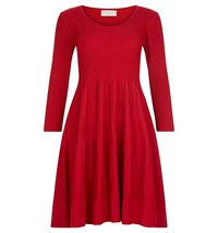 Hobbs Marla Dress Red